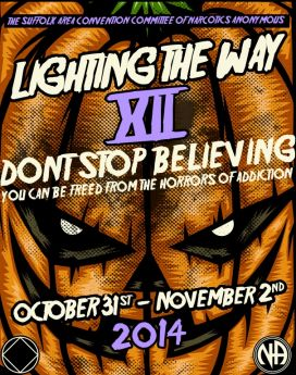 Sammy D-Suffolk- When the pain gets great enough-SACNA-Lighting The Way-XII-Dont Stop Believing-Oct-31-Nov-2-2014-Melville-NY