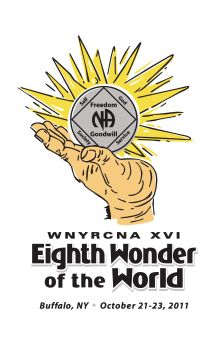 Regina H-Rochester -NY-Recovery Easy To Obtain  Hard To Maintain  -WNYRCNA XVI-Eighth Wonder OF The World-October-21-23-Buffalo-NY