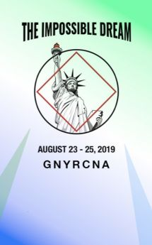 H and I Workshop 2-GNYRCNA I-The Impossible Dream-August 23-25-2019-New York NY
