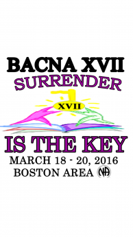 Rob G-NEMA-Honesty -BACNA XVII-Surrender Is The Key-March 18-20-2016-Framingham MA