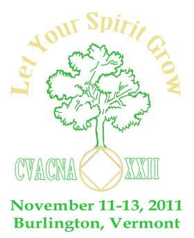 Mattie S-NEMA-Recovery Begins With Surrender-CVACNA XXII-November 11-13-2011-Burlington Vermont