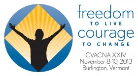 Reggie-NEMA-Living The Program-CVACNA-XXIV-Freedom to Live Courage To Change-November-8-10-2013-Burlington-VT