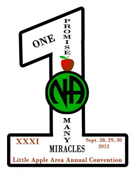 Tony B-Delaware-Step 6-LAACNA-XXXI-One Promise Many Miracles-September-28-30-2012-Allentown-PA