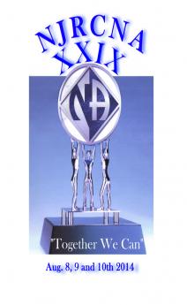 Nadia A- Greater New Brunswick NJ-Forgiving Is Its Own Reward--NJRCNAXXIX-August 8-10-2014